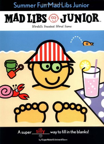 Super Silly Mad Libs Junior Andy Landy